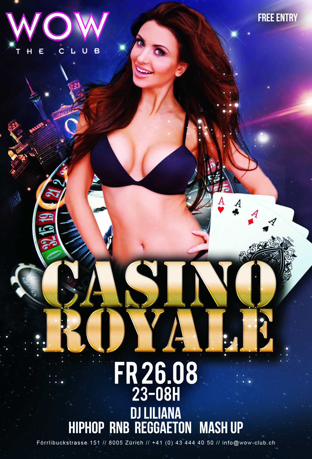 royal club casino zürich